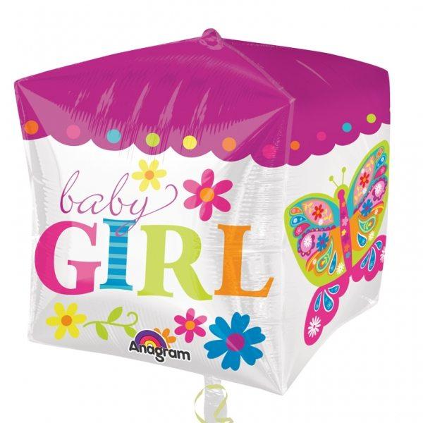 Cubez Beautiful Baby Girl Foil Balloon