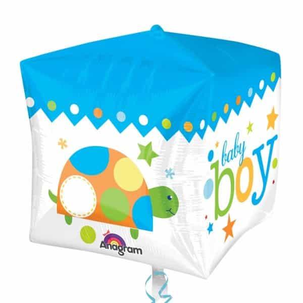 Cubez Sweet Baby Boy Foil Balloon