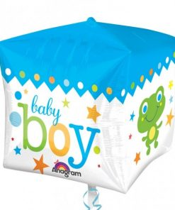 Cubez Sweet Baby Boy Foil Balloon