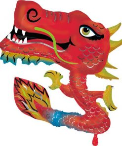 Dragon SuperShape Foil Balloon