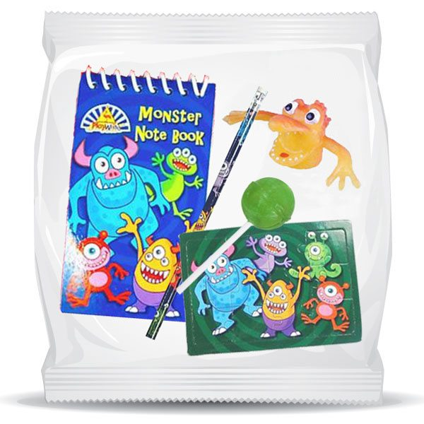 Monsters Pre-Filled Party Bag