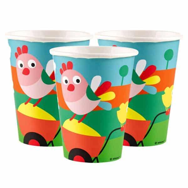 Farm Fun Party Paper Cups