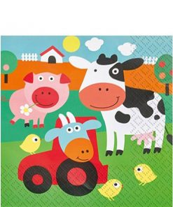 Farm Fun Party Paper Napkins