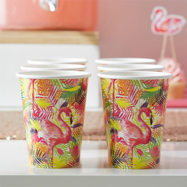 Flamingo Fun Party Paper Cups