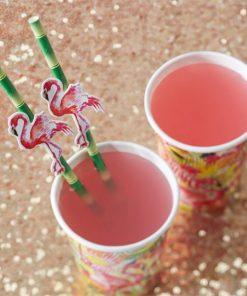 Flamingo Fun Party Straws
