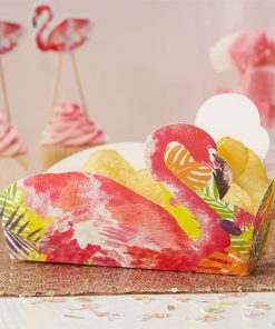 Flamingo Fun Party Treat Tray