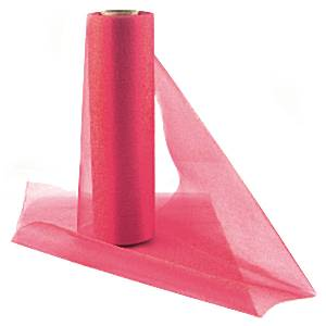 Fruit Pink Organza Sheer Roll