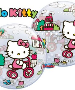 Hello Kitty Party Pink Bike Bubble Balloon