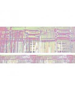 Iridescent Metallic Fringe Garland Decoration