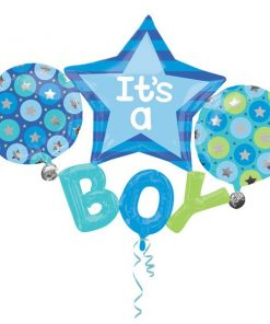 It's A Boy Multi Foil Balloon