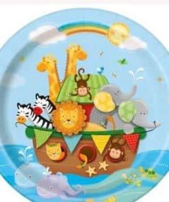 Noah's Ark Party Paper Plates