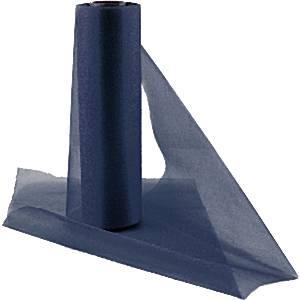 Navy Blue Organza Sheer Roll