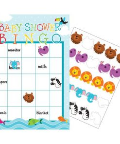 Noah's Ark Party Bingo Game
