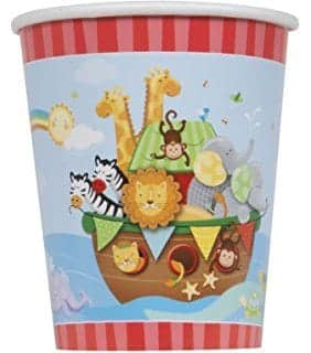 Noah's Ark Party Paper Cups