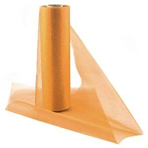 Orange Organza Sheer Roll