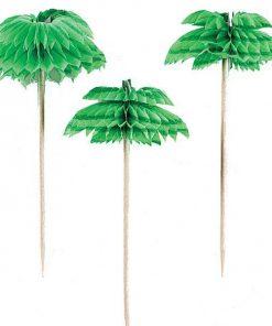 Palm Tree Honeycomb Drink Picks