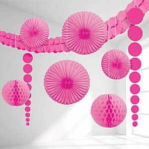 Pink Room Decorating Kit