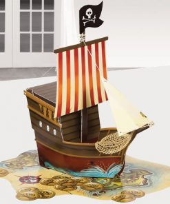 Pirate's Map Party Table Centrepiece