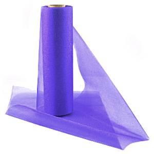 Purple Organza Sheer Roll