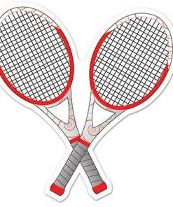 Tennis Party Tennis Racquets Cutout