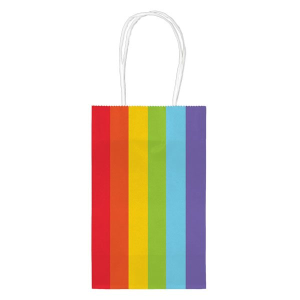 Rainbow Party Paper Party Bags