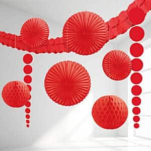 Red Room Decorating Kit