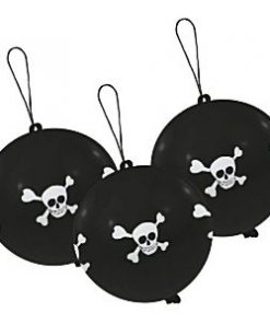 Pirates Party Skull & Crossbones Punch Balloons