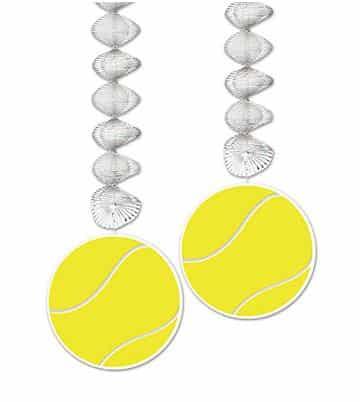 Tennis Party Tennis Ball Dangler Decorations
