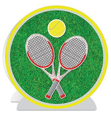 Tennis Party 3-D Tennis Centerpiece Decoration