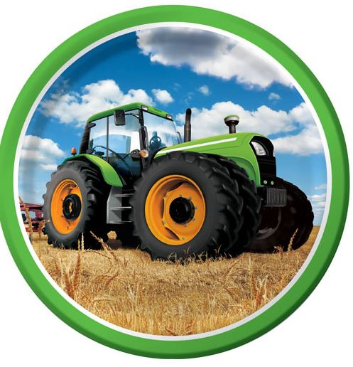 Tractor Time Party