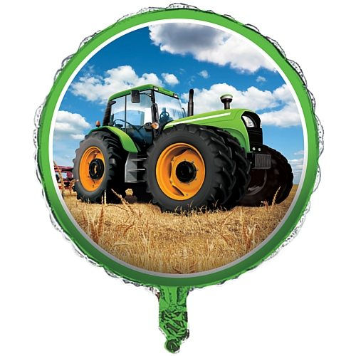 Tractor Time Party Foil Balloon