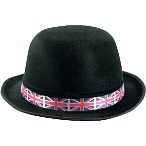 Union Jack Bowler Hat