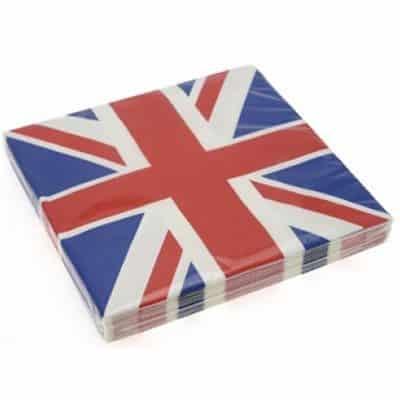 Union Jack Party Paper Lunch Napkins