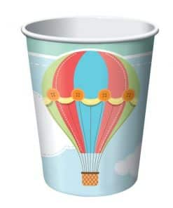 Up, Up and Away Party Paper Cups
