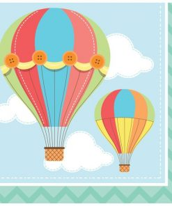 Up, Up and Away Party Paper Napkins