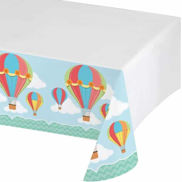 Up, Up and Away Party Plastic Tablecover