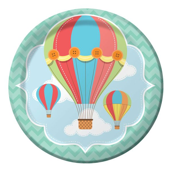 Up, Up and Away Party Paper Plates