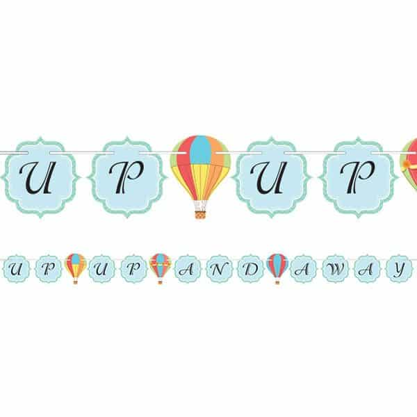 Up, Up and Away Party Ribbon Banner
