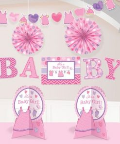 Girl's Shower With Love Party Room Decorating Kit