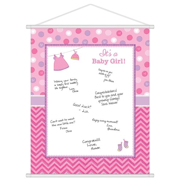 With Love - Girl Sign-In-Sheet