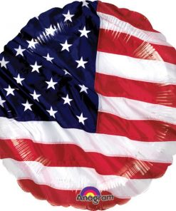 USA American Flag Foil Balloon