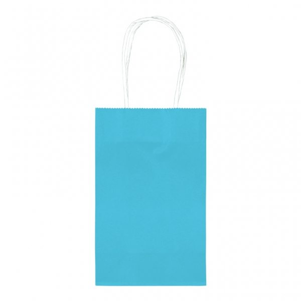 Turquoise Blue Small Paper Party Bags