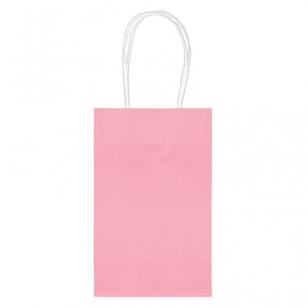 Pink Small Paper Party Bags