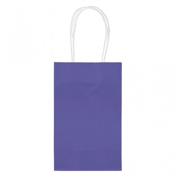 Purple Small Paper Party Bags