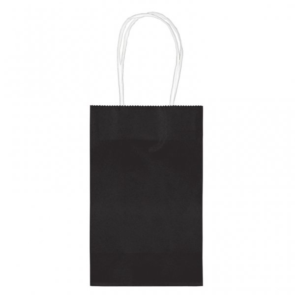 Black Small Paper Party Bags