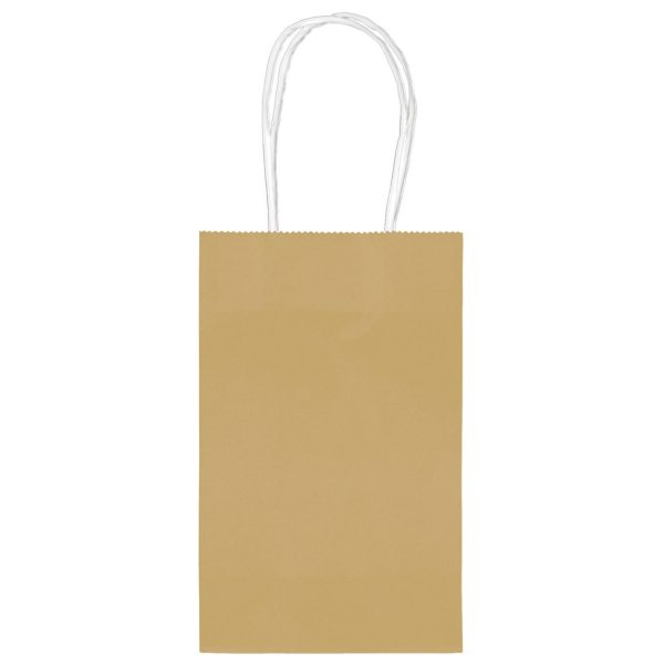 Gold Small Paper Party Bags