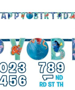 Disney Finding Dory Party Happy Birthday Banner