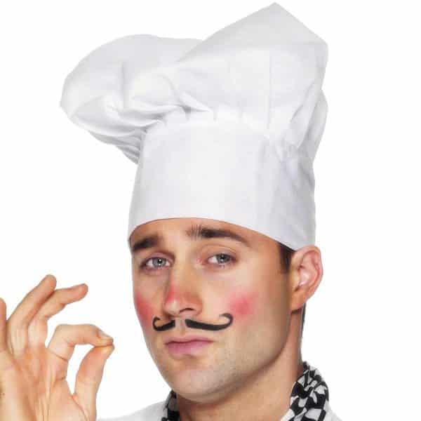 White Chef's Cotton Hat