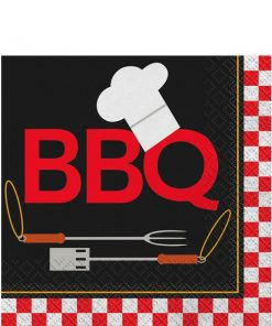 Backyard BBQ Party Paper Napkins