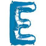 Blue Letter E Foil Balloon